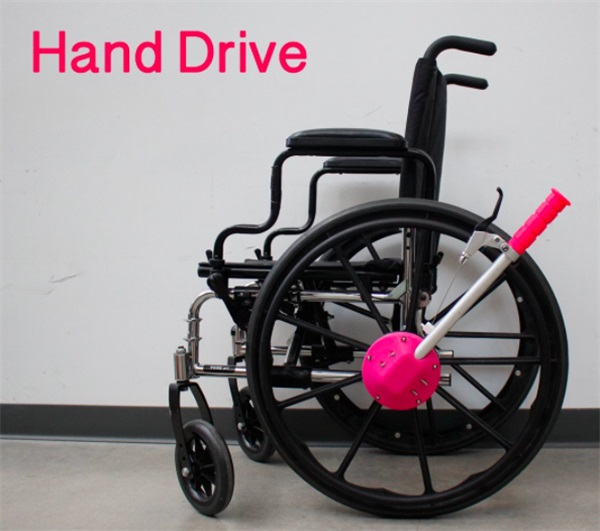 The affordable 3D printed wheelchair Hand Drive Open BioMedical