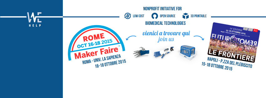 Maker Faire Rome Open BioMedical Initiative Futuro Remoto Napoli 3D Printing Makers medicale Stampa 3D