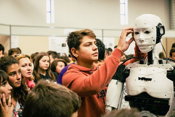 InMoov 3D printed humanoid robot Greece