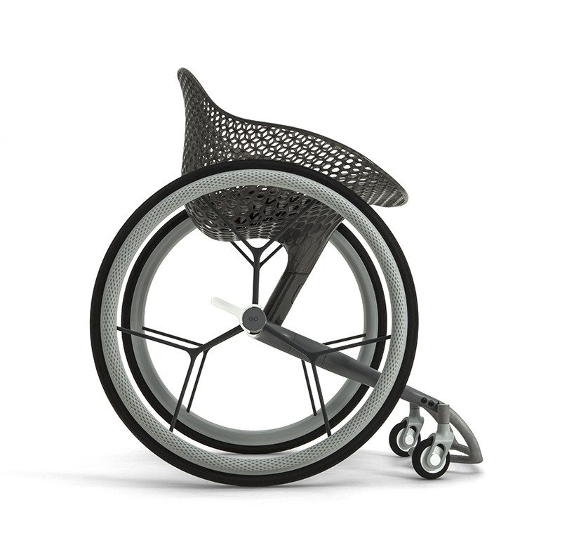 GO wheelchair 3D printing medical design