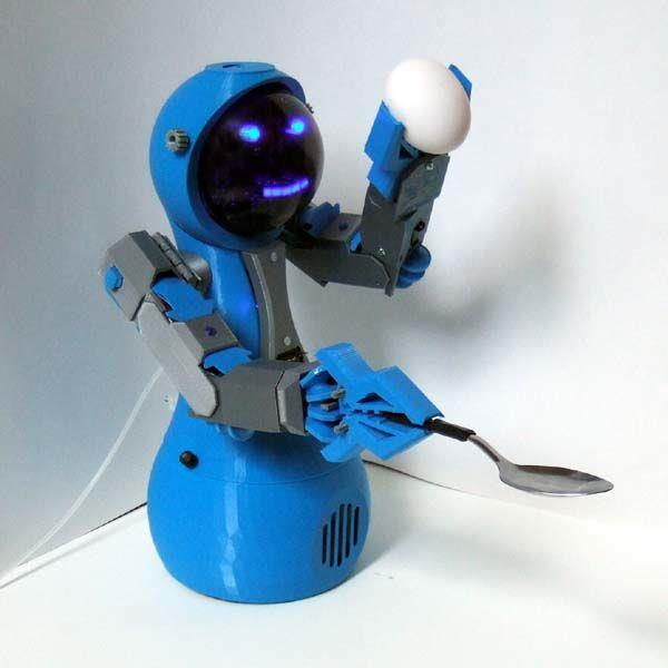 picture about 3d Printable Robot called Robotics Archivi Open up BioMedical Initiative - We Support