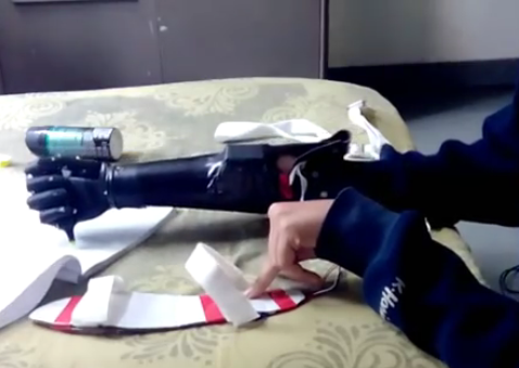 From India comes Bio_Nick, a 3D printed prosthetic arm
